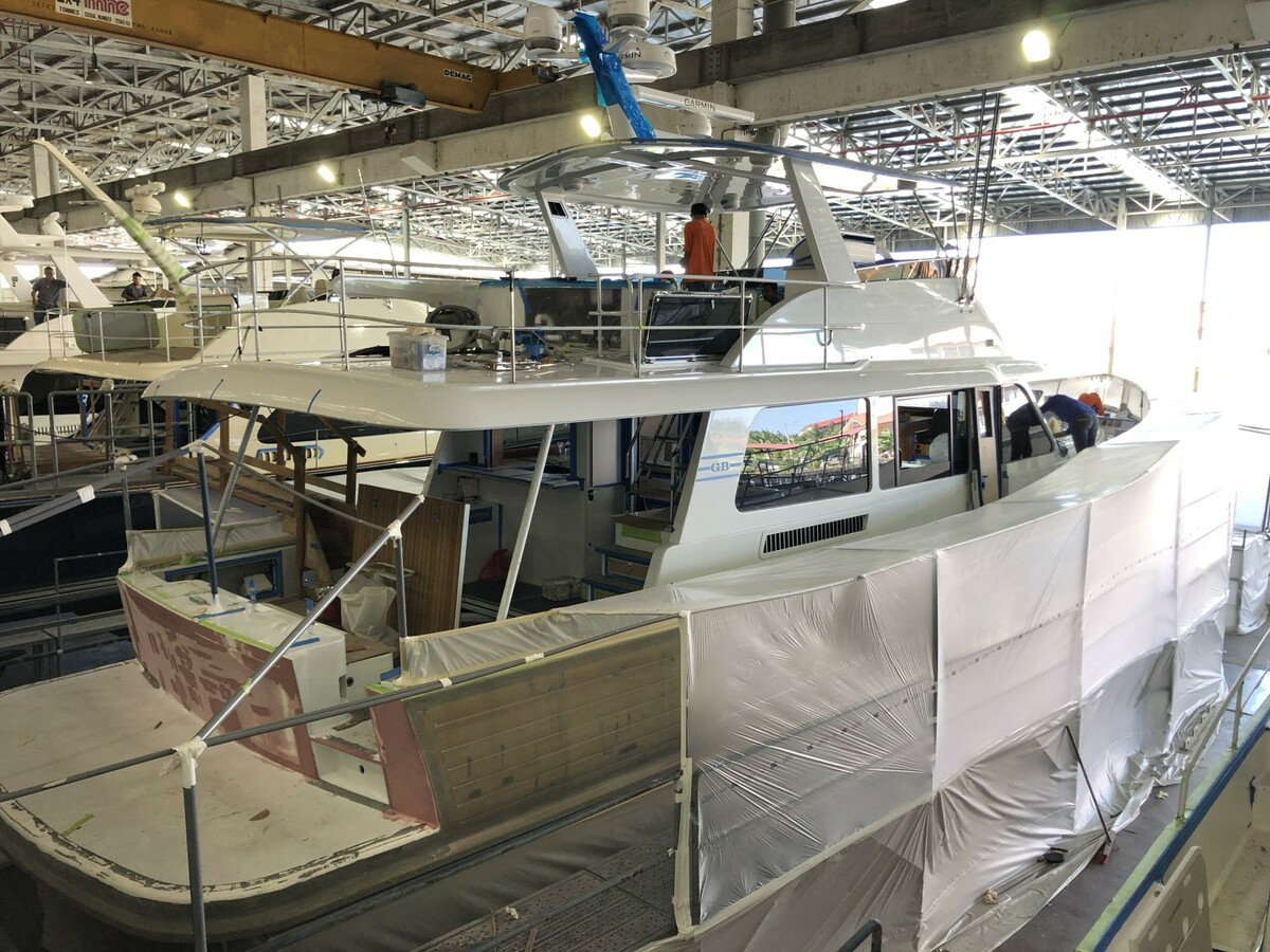 Cygnus starboard side