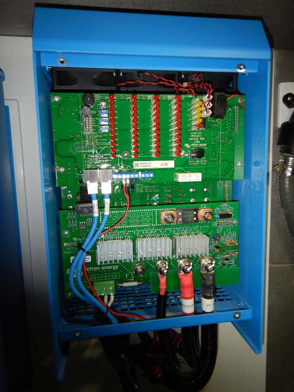 Inside a Victron inverter