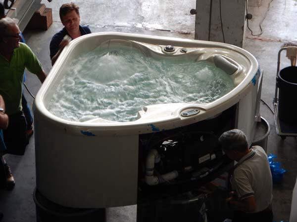 The Cygnus hot tub!